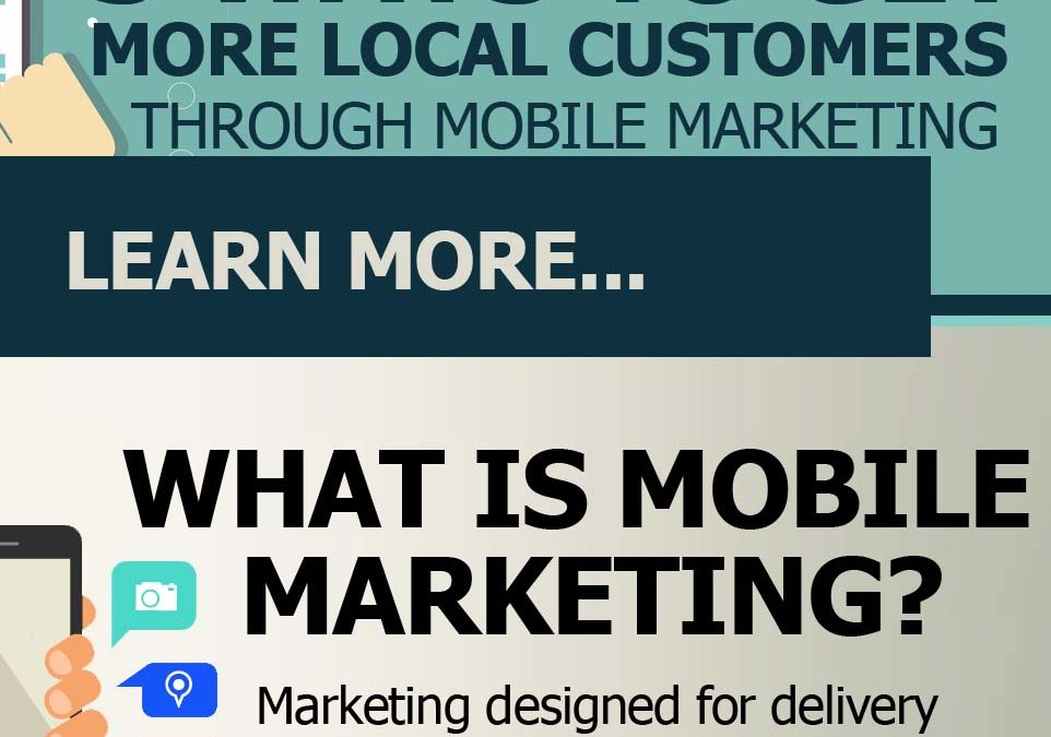 3 Ways to Get More Local Customers through Mobile Marketing