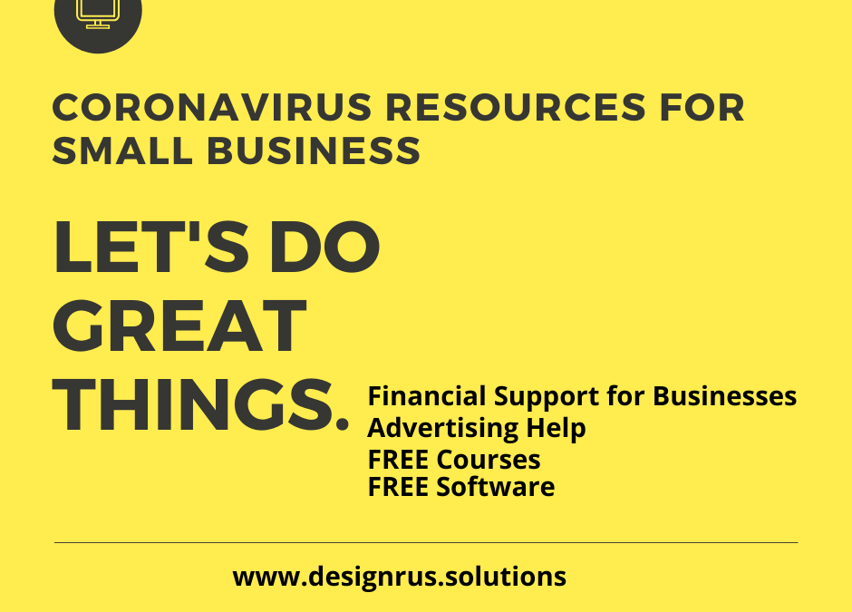 Coronavirus Covid-19 Resources for Small Business